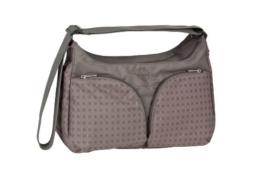 Lässig Basic Shoulder Bag Wickeltasche/Babytasche inkl. Wickelzubehör, Comb slate -