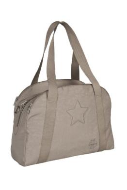 Lässig Casual Porter Bag Star Wickeltasche mit verstellbarem Schultergurt inkl. Wickelzubehör, slate -