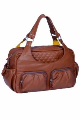 Lässig Tender Multi Pocket Bag Wickeltasche/Babytasche inkl. Wickelzubehör, cognac -