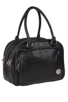 Lässig Tender Multizip Bag Wickeltasche/Babytasche inkl. Wickelzubehör, black -