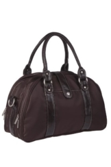 Lässig Wickeltasche Glam Shoulder Bag, choco -