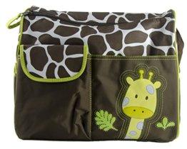 Multifunktionale Baby Windel Windel Wickeltasche Mama Handtasche Giraffen Muster -