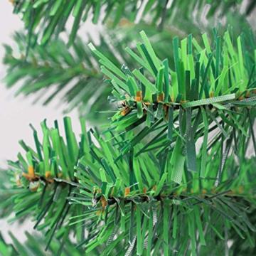 Weihnachtsbaum Kunstbaum künstlicher Baum Tannenbaum 120 cm hoch 360 Spitzen -