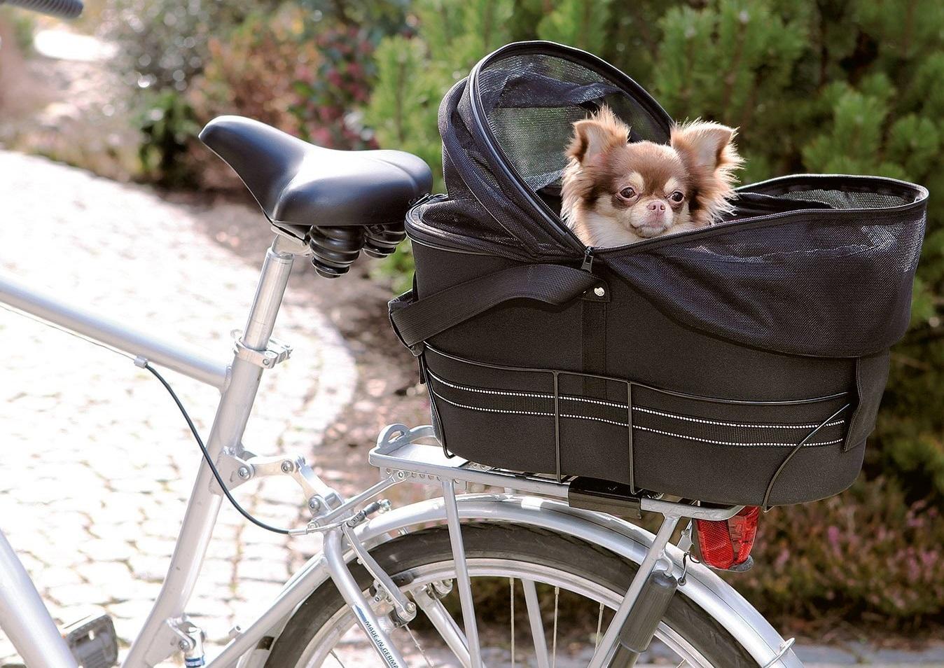Hunde-Fahrradtasche