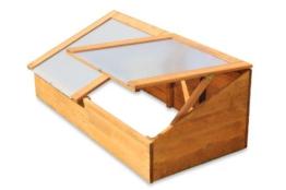 Gewächshaus Treibhaus Frühbeet Kasten aus Holz -