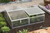 Vitavia Frühbeet Gaia 2x HKP 4 mm 1,20 m², Alu -
