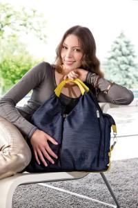 Dies ist die Wickeltasche von Lässig, diese ist in mehrere Farben erhältich