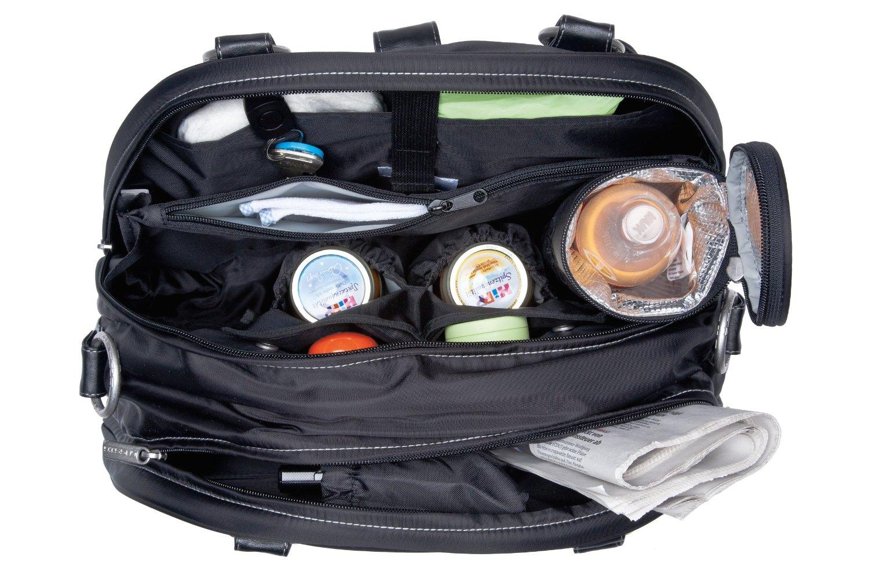 Ausstattung von Handtasche Wickeltasche