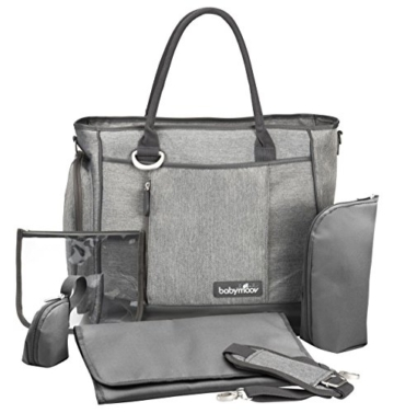Babymoov Damen Wickeltasche Essential, smokey, A043552 -