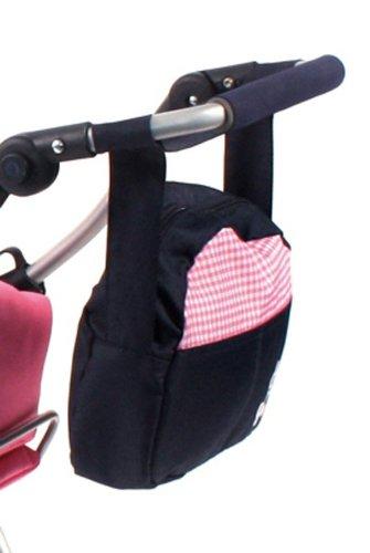 Bayer Chic 2000 853 46 - Puppenwickeltasche, pink Checker -