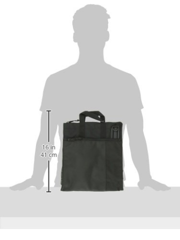 Lässig Casual Buggy Bag Organizer Kinderwagenorganizer/-tasche inkl. Stroller Hooks, black -