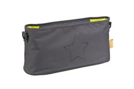 Lässig Casual Buggy Organizer Kinderwagenorganizer-/tasche mit Reißverschluss, Star, ebony -