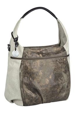 Lässig Casual Hobo Bag Wickeltasche/Babytasche inkl. Wickelzubehör, olive / beige -