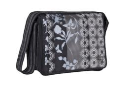 Lässig Casual Messenger Bag Wickeltasche/Babytasche inkl. Wickelzubehör Colored black -