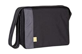 Lässig Casual Messenger Bag Wickeltasche/Babytasche inkl. Wickelzubehör solid black -