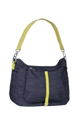 Lässig Green Label Shoulder Bag Wickeltasche mit verstellbarem Schultergurt inkl. Wickelzubehör, denim blue -