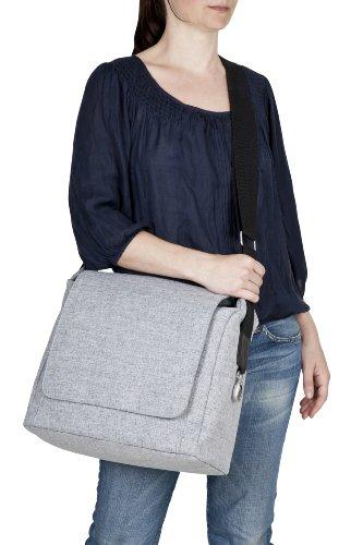 Lässig Green Label Small Messenger Bag Update Wickeltasche/Babytasche inkl. Wickelzubehör  denim blue -