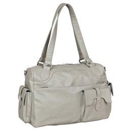 Lässig Tender Shoulder Bag Wickeltasche/Babytasche inkl. Wickelzubehör, stone -