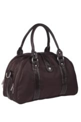 Lässig Wickeltasche Glam Shoulder Bag, choco -